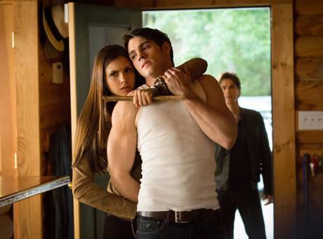 Jeremy and Elena showdown